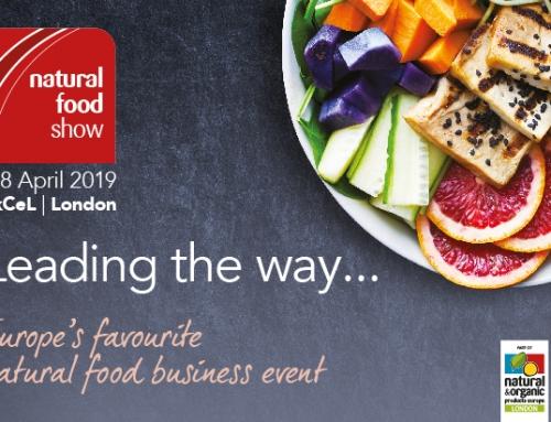 Απρίλιος 2019 – Συμμετοχή στην έκθεση στο Λονδίνο Natural and Organic